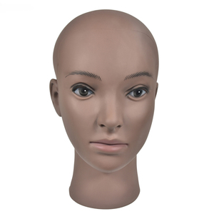 Image 5 - mannequin display model head stand with shoulder wig support styrofoam manikin head