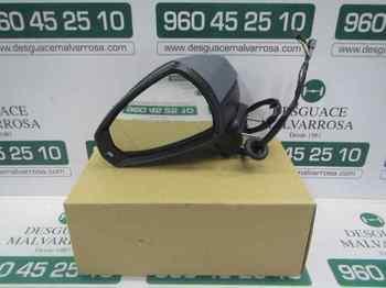 RETROVISOR IZQUIERDO AUDI A3 (8V) Ambition ELECTRICO.TERMICO.IMPR.CON PILOTO .5 CABLES+2 PINS MLV16409572...