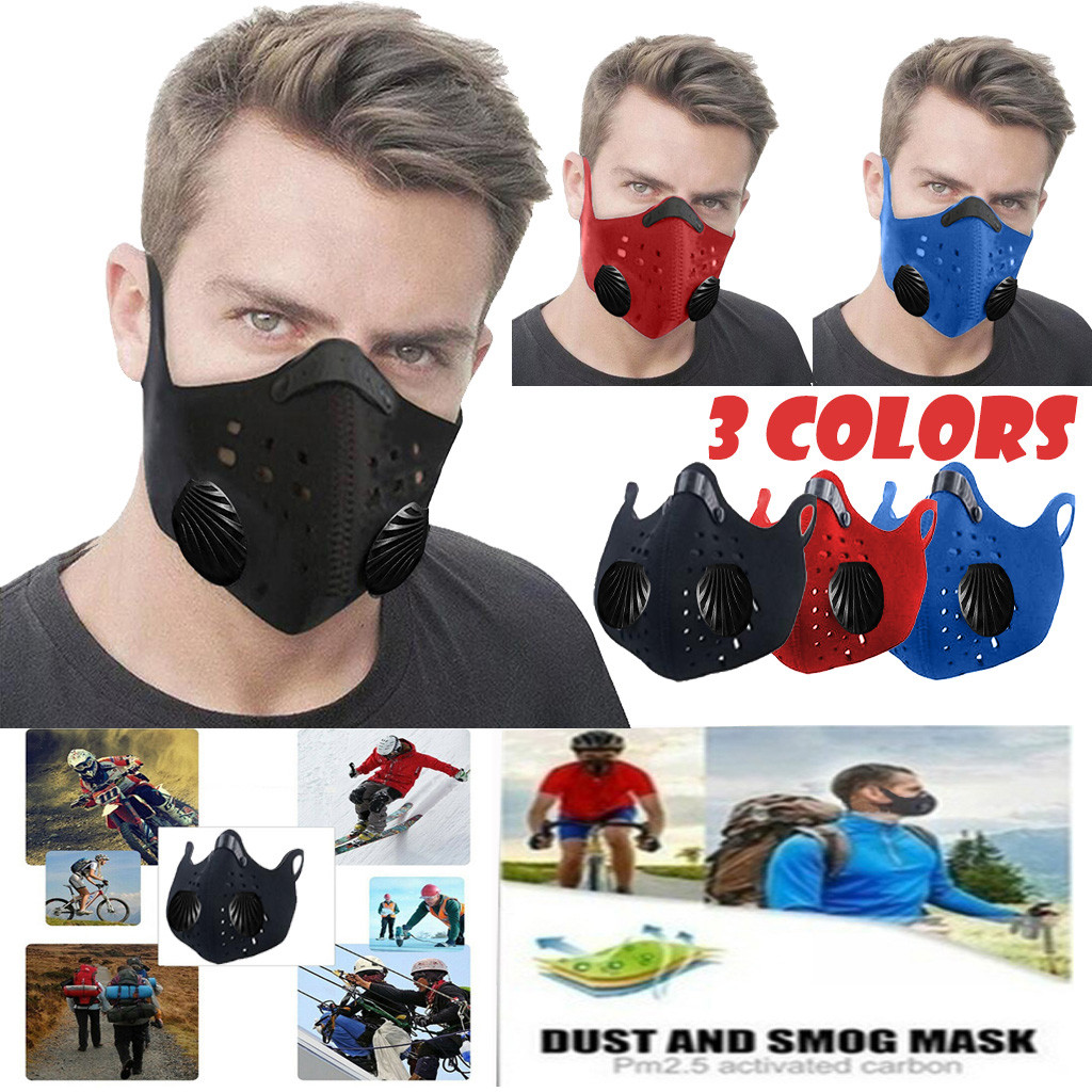 Shipping To The Us Activated Reusable Carbon Filter Windproof Dust proof Outdoor Sports Bibs Running Cycling Shipping To The Us Activated Reusable Carbon Filter Windproof Dust-proof Outdoor Sports Bibs Running Cycling Dust Filter