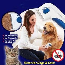 Peine para pulgas eléctrico, 150 Uds., para el cuidado de mascotas, cepillo para limpieza de piojos, terminador eléctrico para limpieza de piojos