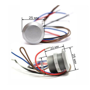 Image 2 - RFID Micro Đầu Đọc Truy Cập Chống Nước IP65 Mini Đầu Đọc Thẻ Wg26 Định Dạng Đầu Ra SN: IButton