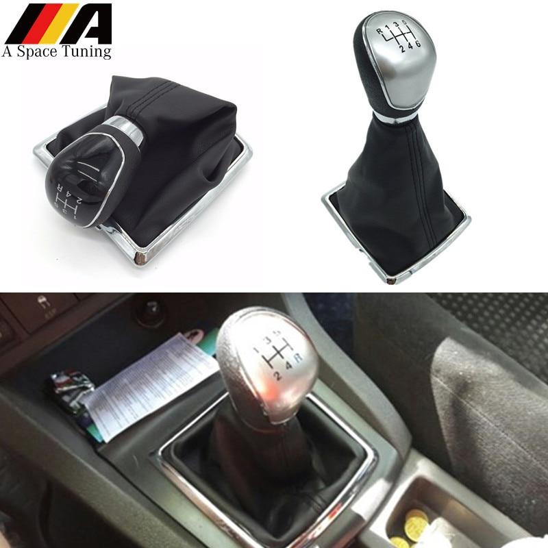 Shift Knob Cover-Car Gear Shift Stick Gaiter Boot PU Leather Dust ...