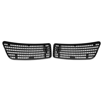 1Pair Left & Right Side Hood Upper Grill Vent for 2007-2013 MERCEDES S550 W221