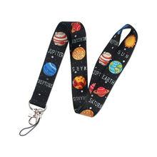 Звездная планета арт брелок лямки ленты шейный ремешок для телефонных