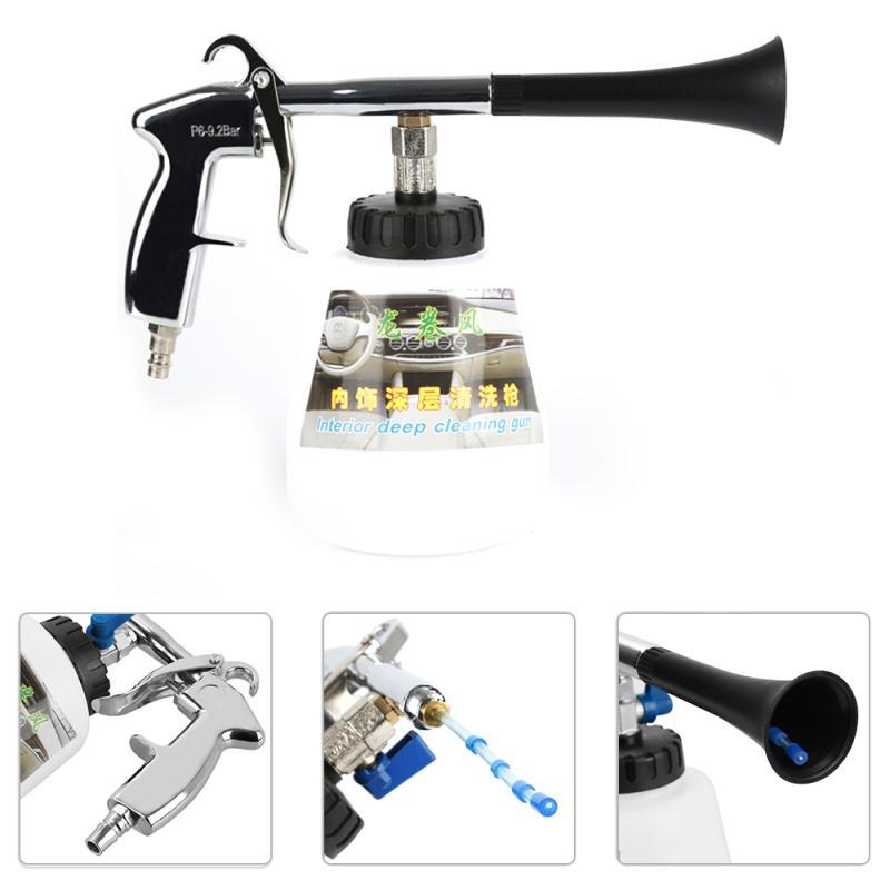 Portable Tornador Car Washer Water Gun Foam Lance For Car Wash Generator Surface Interior & Exterior Car Vacuum Cleaner Dropship