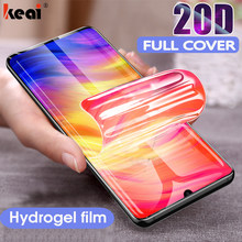20D Full Cover Hydrogel Film For Xiaomi Redmi Note 6 7 8 Pro Screen Protector For Redmi 7A K20 Pro Protective Film Not Glass(China)
