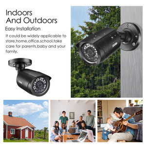 Image 4 - ZOSI 1080P HD TVI CCTV Security Camera ,3.6mm Lens 24 IR LEDs,65ft Night Vision ,Outdoor Whetherproof Surveillance Camera