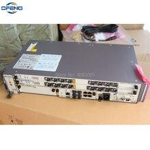 Huawei OLT MA5608T 2 * płytka kontrolna MCUD 1G + 1 * płytka zasilająca MPWC DC + 1*2 * GPBD B + C + C + + Terminal serwisowy linii optycz
