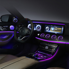 Suitable for Mercedes-Benz E-class turbo air outlet atmosphere light air conditioner decorative light