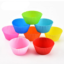 30pcs/Lot Muffin Silicone Baking Mold Cupcake Liners DIY Cake Decorating Tools Accessory