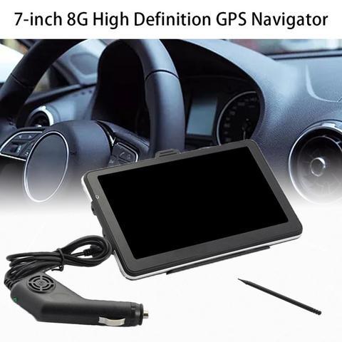 7 polegada 8g gps navigator navegacao do carro portatil dispositivo de navegacao do carro externo
