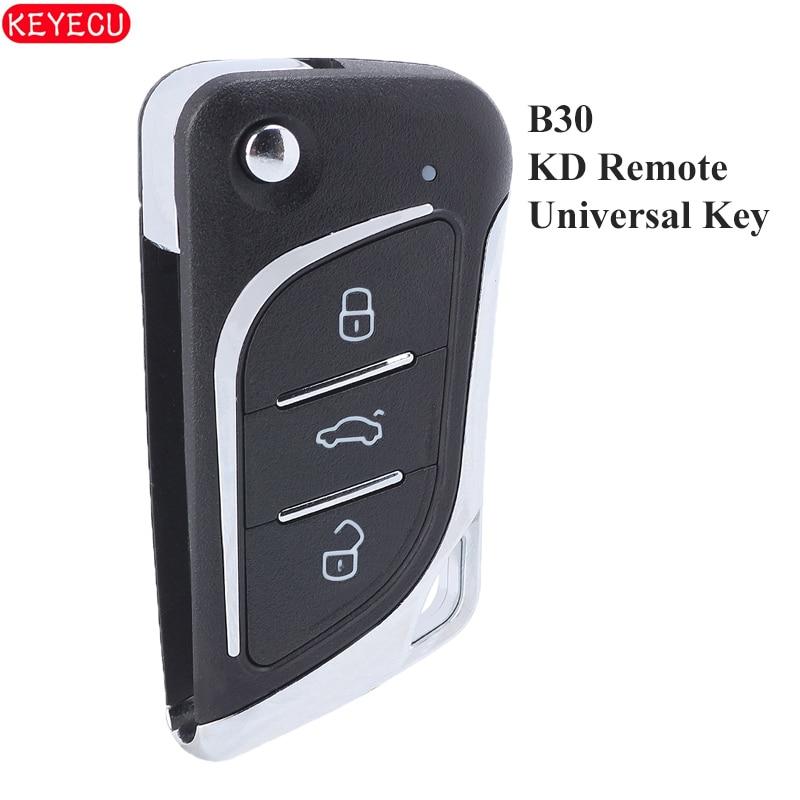 B30 KD900 URG200 KD900 + KD200 Mini KD KD-X2 télécommande universelle 3 boutons KD clé clé de voiture à distance B30