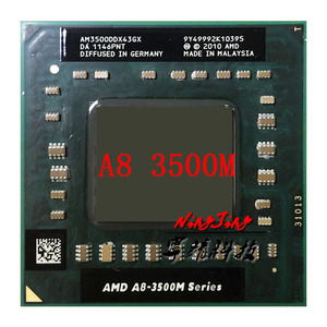 AMD A8-Series A8-3500M A8 3500M 1.5 GHz Quad-Core Quad-Thread CPU Processor AM3500DDX43GX Socket FS1