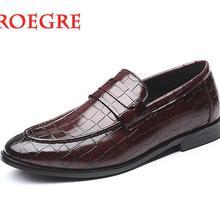 Мужская повседневная обувь; деловые кожаные лоферы; офисные туфли для мужчин; мокасины для вождения; удобные слипоны; модная свадебная обувь