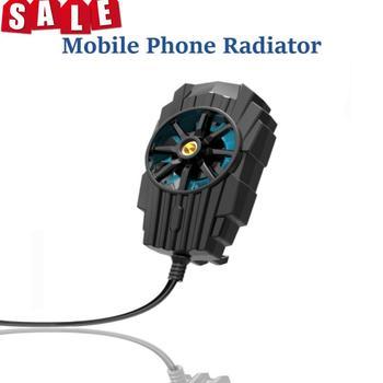 Przenośny telefon komórkowy Radiator 4 7-7 5 Cal do gier wiatraczek USB wentylator Radiator telefon komórkowy Cooler czarne telefony telekomunikacja tanie i dobre opinie centechia CN (pochodzenie) Dropshipping