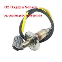 O2 Oxygen Sensor Fit For Audi A4 Sedan Wagon AVV Engine 1.8 1995-2001 Lambda Probe Lambda Sensor 06B906265C 0258006369 7481564 new oxygen sensor o2 lambda oxygen sensor 39210 23750 3921023750 for korean car