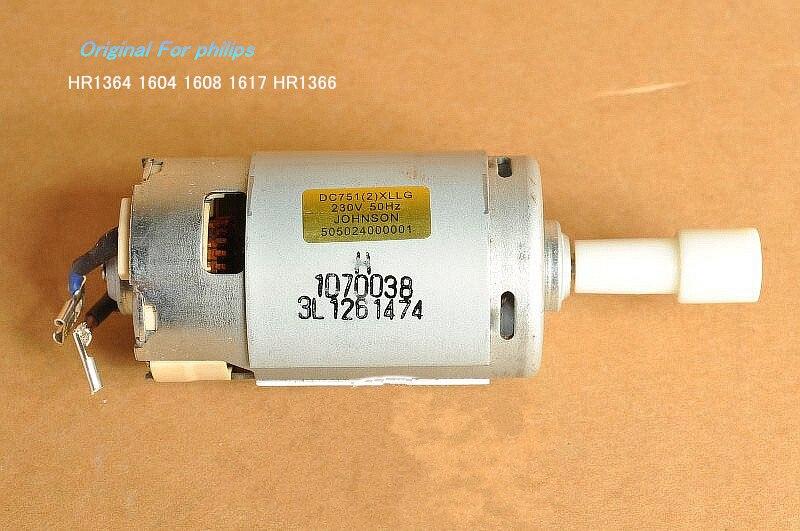 Original For Phi**ps HR1364 1604 1608 1617 HR1366 Blender Motor Including Drive Parts 7512 230V 50hz