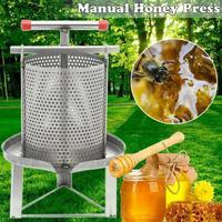 Stainless Steel Household Manual Honey Press Wax Press Beekeeping Tool