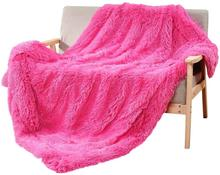 2019 Super Soft Luxury Long Plush Blanket Fur Flannel Shaggy Cover Bedding Sheet Fleece Warm Throws for Bed Sofa Travel