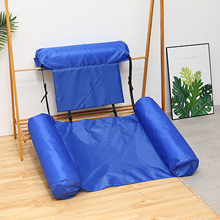 Mat Lounger Air-Mattresses Hammock Chair Floating-Row Swimming-Pool Foldable Water-Sports