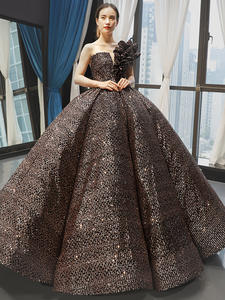 Evening-Dress Maternity-Clothes Sequins-Gown Gonna Gorgeous Premaman Luxury