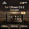 KingBeats штатное головное устройство For Citroen C5 2 2008 - 2017 GPS Android 10 автомагнитола на андроид магнитола For Ситроен С5 2 For автомобильная мультимедиа Octa ...