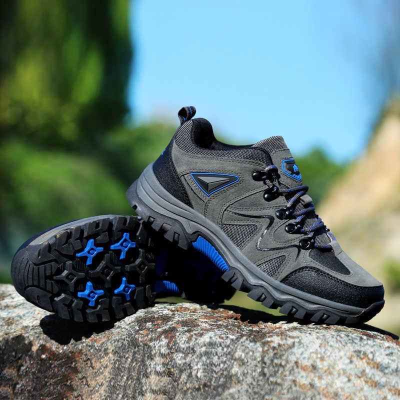 2019 Erkek Güvenlik iş ayakkabısı Erkekler Açık Çelik Ayakkabı Askeri Savaş yarım çizmeler Yıkılmaz Şık Nefes Sneake 48
