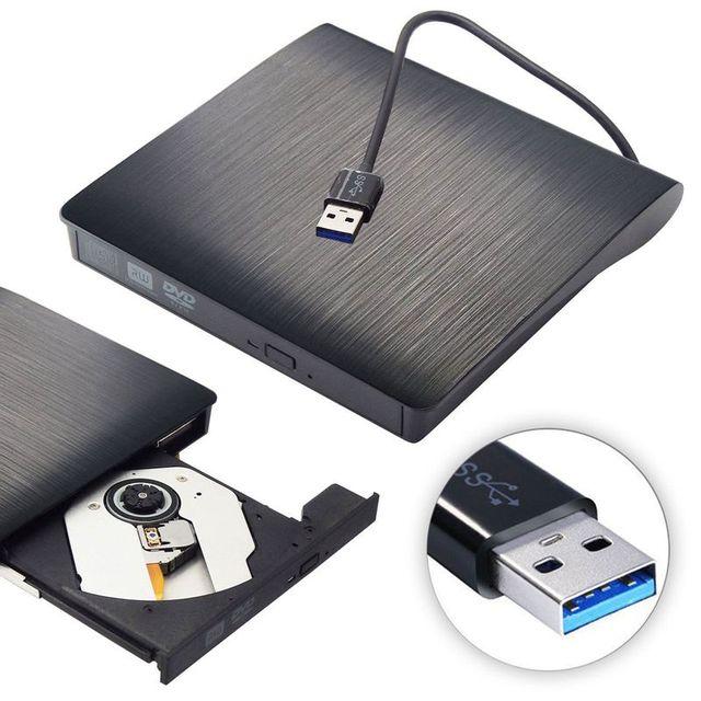 USB 3.0 DVD Drive Portatil DVD Floppy Drive Odd External Dvd Drive ROM Player Writer Rewriter Burner for iMac/MacBook/ Laptop