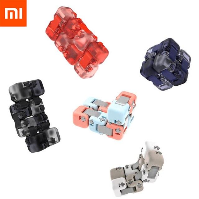 Orijinal Xiaomi Mijia parmak tuğla stres giderici fırıldak oyuncağı akıllı parmak oyuncak inşaat blokları Xiaomi ev çocuklar için hediye