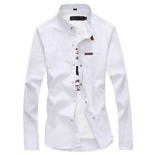 2020 marca masculina camisa masculina camisas de vestido moda masculina casual manga longa negócios formal camisa social masculina