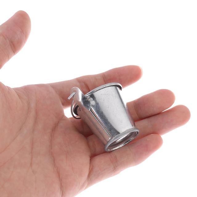 Dollhouse miniature ice cube bucke