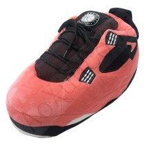 One Size 35-43 Winter Cotton Shoes Women/Men Bread Fat Slippers Cute Cartoon Animal Warm Home Plush Shoes Woman Male Sneakers one size winter warm lovely animal panda slippers home for men