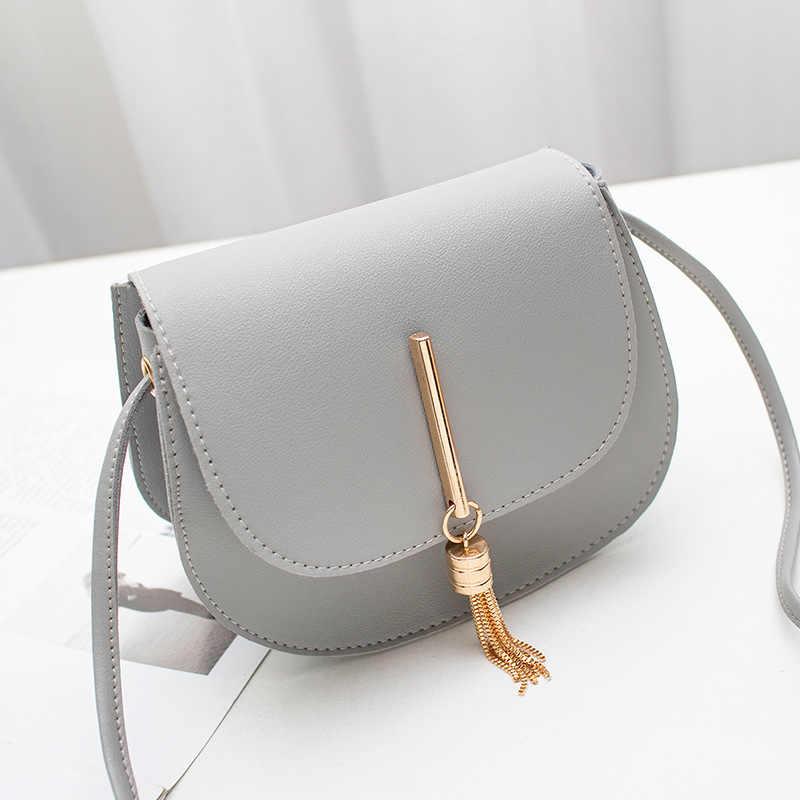 Women PU Leather Shoulder Bags Tassel Handbag Sling Bags Crossbody Satchel Totes