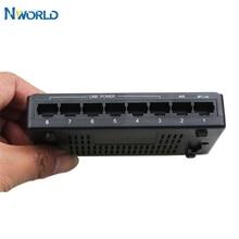뜨거운 판매 100Mbps IEEE802.3x 8 포트 S POE 스위치 이더넷 네트워크 스위치 이더넷 IP 카메라 VoIP 전화 AP 장치