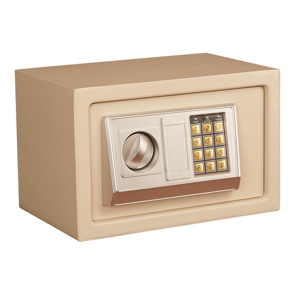 Мини электронный пароль безопасный маленький домашний офис отель электронный многоцелевой пароль безопасный золотой