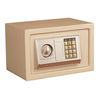 Mini Electronic Password Safe Safe Small Home Office Hotel Electronic Multi Purpose Password Safe Gold