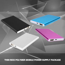 Universal Suitable For Mobile Smart Phone Aluminum DIY Power Bank Case Cell Box Kit for 5000mah External Battery Charger
