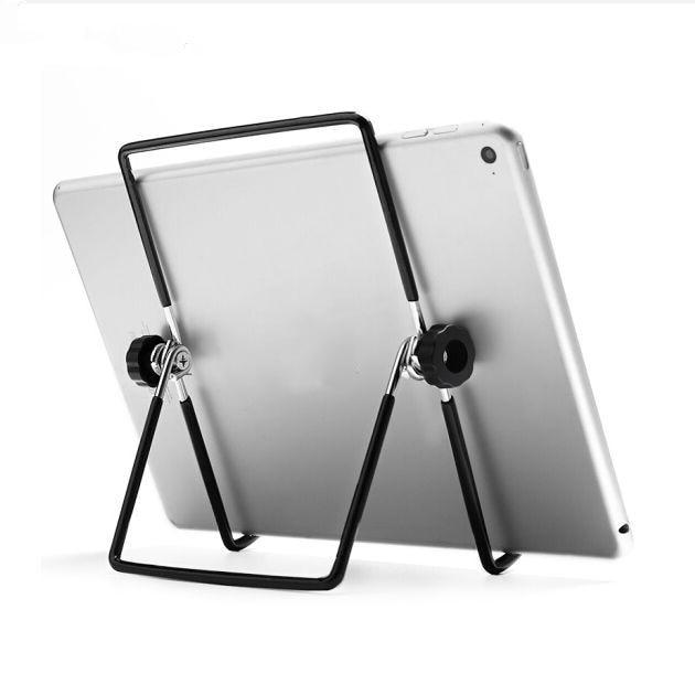 Foldable Universal Tablet Holder For iPad Holder Tablet Stand Mount Adjustable Desk Support Flexible Phone cellphone stand ring