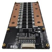 Broodio 350a 8s 3.2v lifepo4 24v bateria bms pcb placa de proteção equilíbrio tensão \ atual  proteção contra curto-circuito