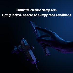 Image 3 - شاومي 20 واط شاحن سيارة لاسلكية ، ماكس السيارات الكهربائية قرصة 2.5D حلقة زجاجية مضاءة لجهاز الشحن اللاسلكي