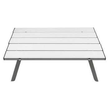 Mesa de aleación de aluminio portátil muebles de exterior plegable Camping senderismo...
