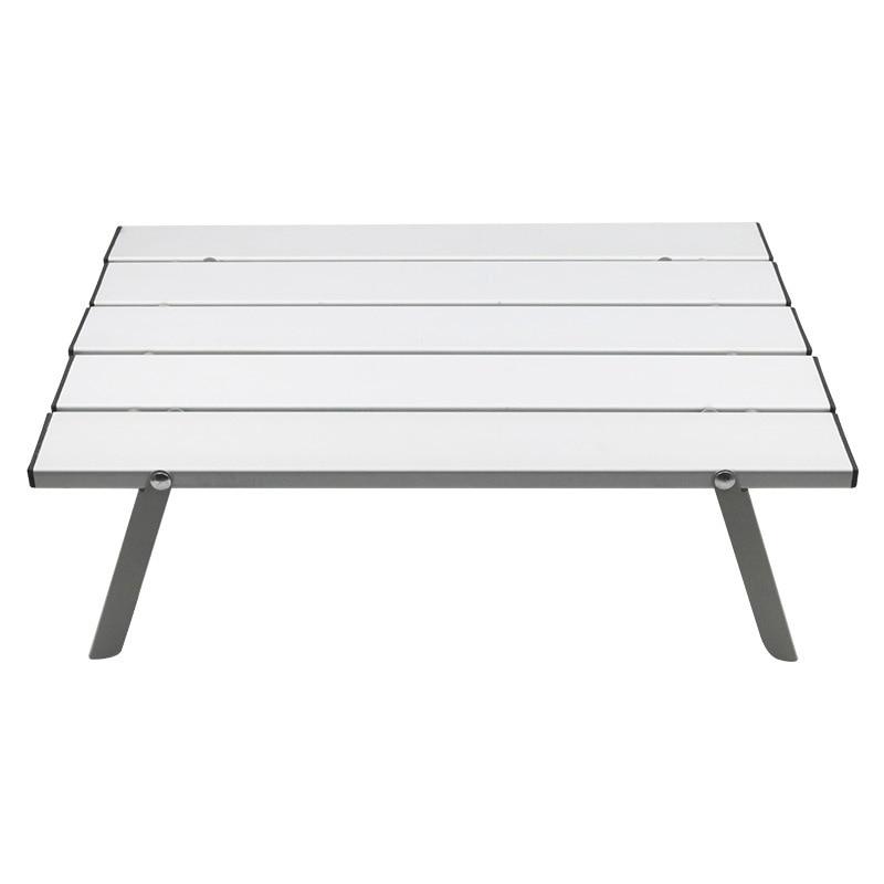 Aluminum Alloy Portable Table Outdoor Furniture Foldable Folding Camping Hiking Desk Traveling Outdoor Picnic Mesa Plegable
