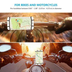 Image 5 - ユニバーサル自転車携帯電話ホルダーシリコーンオートバイバイクハンドルスタンドマウントブラケットマウント電話ホルダー