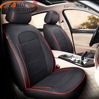 AutoDecorun Custom Fit Genuine Leather Seat Covers for Lexus GX460 GX470 GX400 Accessories Seat Cover Sets Protectors 2010 2017