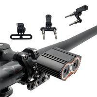 Bicycle Holder Adapter Aluminum Sport Camera Light Lamp Rack Digital Cameras Adapter Bike Handlebar Mount Holder