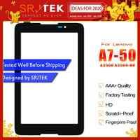 "Srjtek 7 ""Touchscreen Für Lenovo TAB A7-50 A3500 A3500-HV Touchscreen Digitizer Panel Front Glas Tablet PC Ersatz Teile"