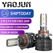 F3S 6000K 40W H7 H4 Car Led Light Bulb 5000lm Super Bright 9005 9006 HB3 HB4 H8 H9 H1 H11 Auto Headlight Accessories Car Styling itimo 40w each bulb headlamp all in one version of x7 led headlight super bright car styling h11