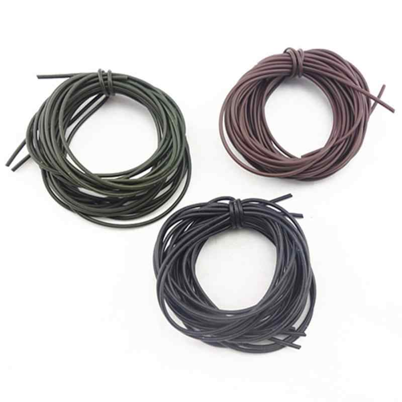3Pcs 1M Carp Fishing Gear DIY Soft Rigs Tube Sleeve Pretend Fishing Lines For Carp Fishing Tackles Accessories