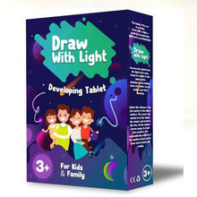Волшебная 3d светящаяся доска для рисования с светильник кой
