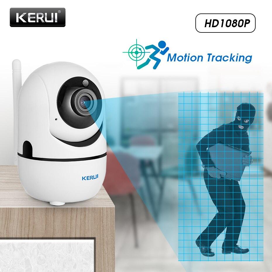 KERUI 1080P Full HD 2MP WIFI bezpieczeństwo w domu kamera IP bezprzewodowa Mini inteligentna Tuya kamera wideo nadzór Auto śledzenie chmura